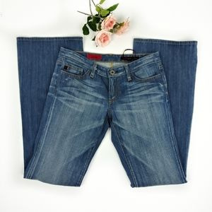 Adriano Goldschmied the club bootcut med wash jean